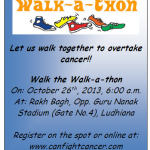 Walk to make Ludhiana a city of hope………