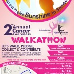 2nd Annual Walkathon Poster